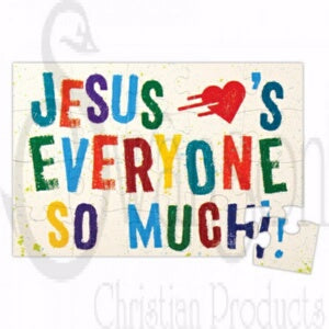 Jesus Loves Everyone/Magnetic (Pack Of 6) Puzzle