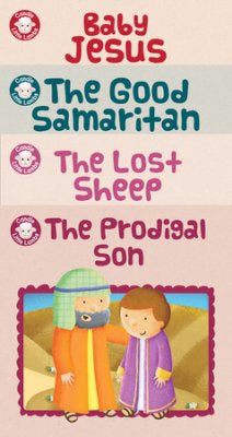 Candle Little Lambs Library: Stories Of Jesus (Set Of 4)