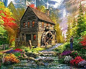 Jigsaw Puzzle-Mill Cottage (1000 Pieces)