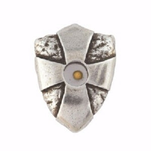 Lapel Pin-Mustard Seed Shield-Pewter