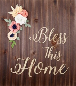 "Wood Pallet Sign-Home (14"" x 15.75"")"