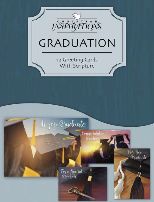 Card-Boxed-Graduation Blessings (Box Of 12) (Pkg-12)