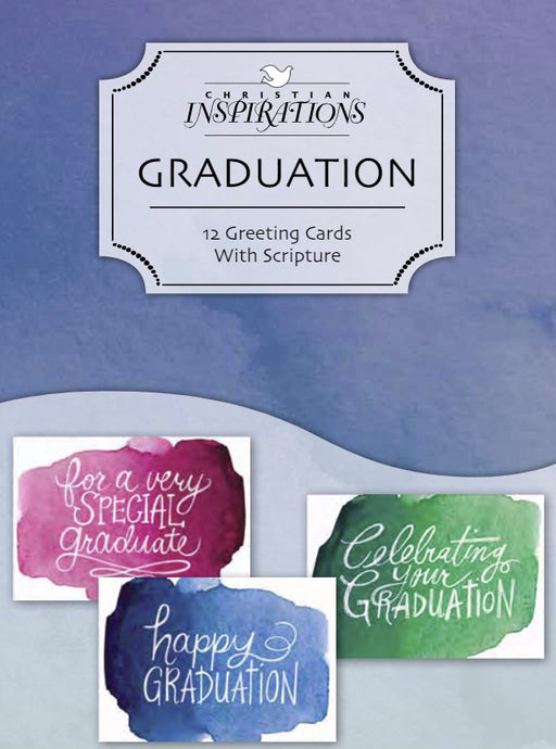Card-Boxed-Graduation Wishes (Box Of 12) (Pkg-12)