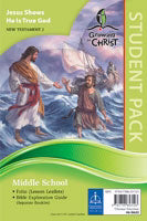 Growing In Christ Sunday School: Middle School-Student Pack (NT2) (#460632)