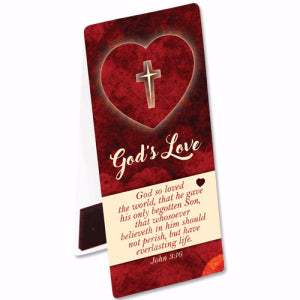 God's Love Magnetic Bookmark