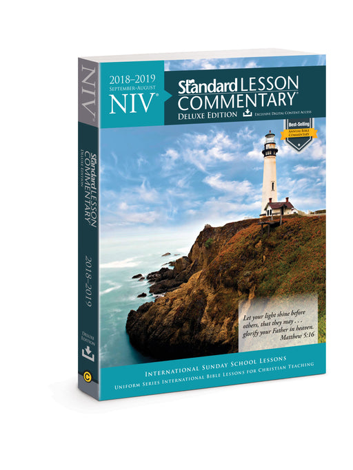 NIV Standard Lesson Commentary Deluxe Edition 2018-2019