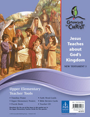 Growing In Christ Sunday School: Upper Elementary-Teacher Tools (NT3) (#460721)