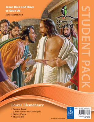 Growing In Christ Sunday School: Lower Elementary-Student Pack (NT4) (#460812)