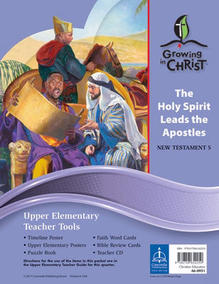 Growing In Christ Sunday School: Upper Elementary-Teacher Tools (NT5) (#460921)
