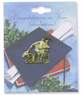 Graduation Lapel Pin