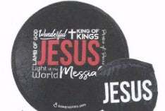 Fan-Names Of Jesus (Pack Of 6) (Pkg-6)