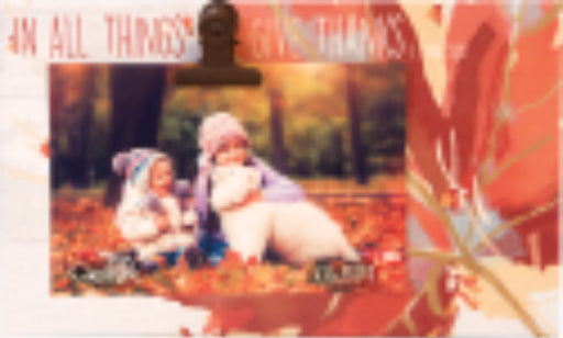 Photo Plaque-Give Thanks (6 x 10)