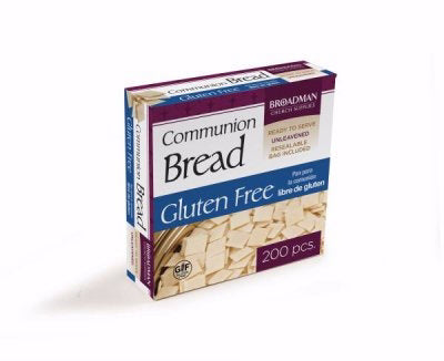 Communion-Bread-Baked Gluten Free Square (Pack Of 200) (Pkg-200)