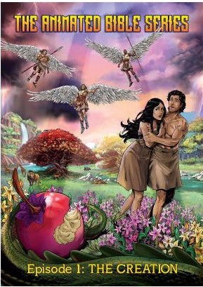 DVD-Animated Bible Stories: The Creation