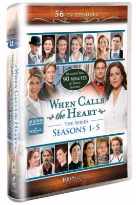 DVD-When Calls the Heart: SPECIAL PRICE: Series Edition-Seasons 1-5 (12 DVD)