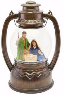 Christmas Lantern-Holy Family