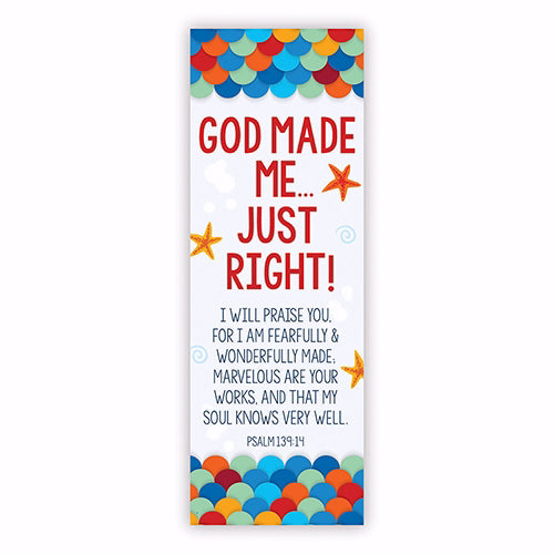 BKM105 IDEAL FOR SCHOOL O Lord Make Me Know. Menorah Bookmark - Pack of 10