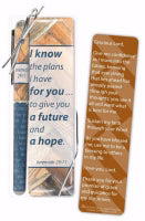 Gift Set-I Know The Plans I Have For You Pen & Bookmark (Jeremiah 29:11 ESV)
