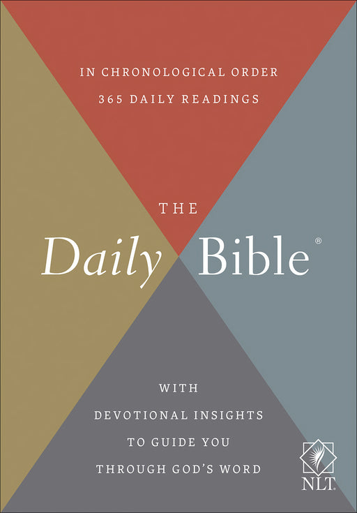 NLT Daily Bible-Softcover (Sep)