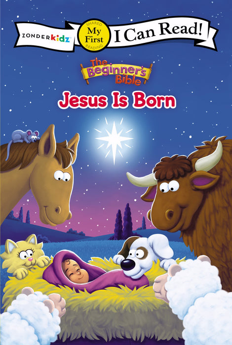 The Beginner's Bible: Jesus Is Born (I Can Read!/The Beginner's Bible)