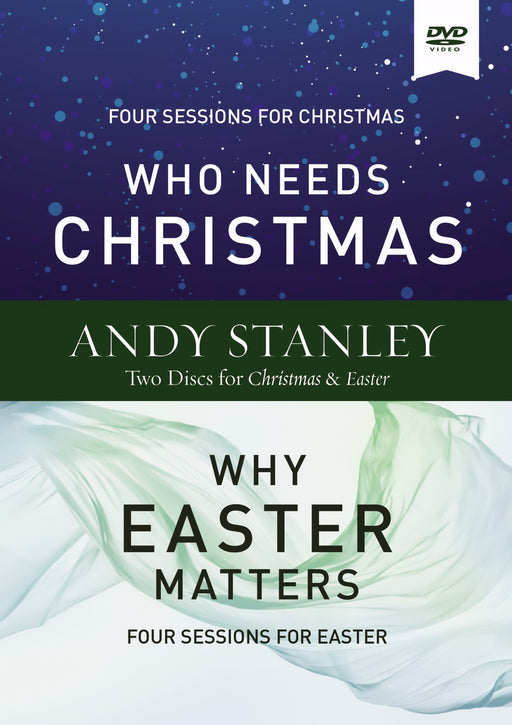 DVD-Who Needs Christmas/Why Easter Matters Video Study (Oct)