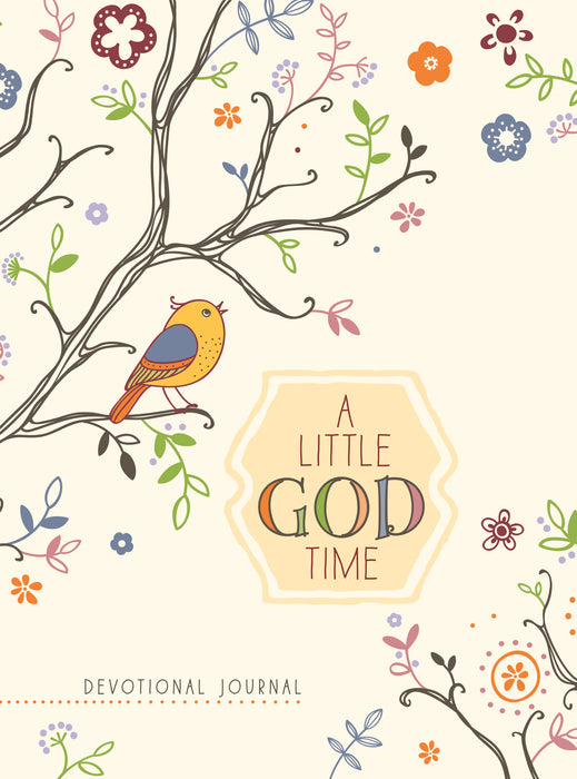 A Little God Time (Rustic) Devotional Journal (May 2020)