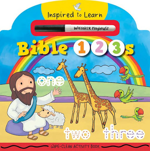 Bible 123s (Wipe-Clean Activity Book)