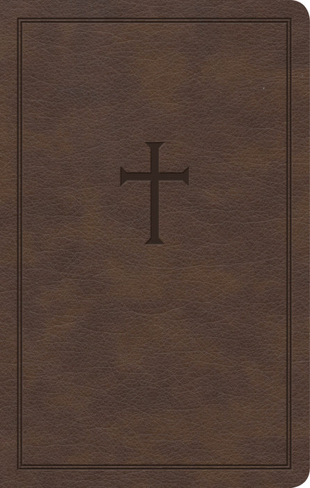 CSB Personal Size Bible-Brown LeatherTouch (Jun 2020)