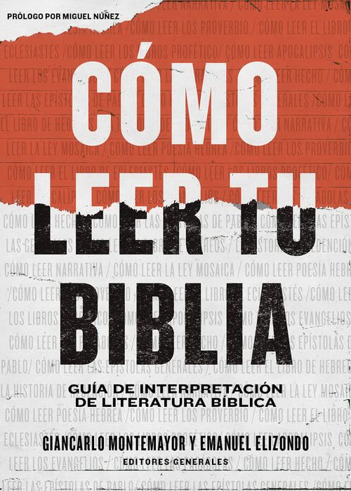 Span-How To Read Your Bible (C?mo Leer Tu Biblia) (Jun 2020)