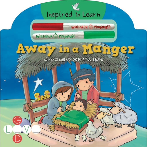 Away In A Manger (Wipe-Clean Color Play & Learn)