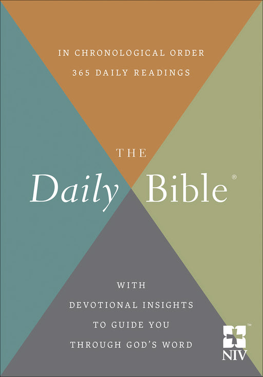 NIV Daily Bible In Chronological Order-Softcover (Sep)