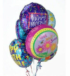 Balloon Bouquet-Half Dozen Themed Mylar