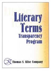 Literary Terms Transparency Program