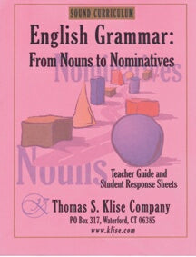 English Grammar: From Nouns to Nominatives