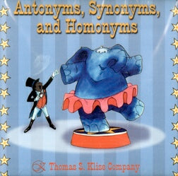 Antonyms, Synonyms, & Homonyms School Version CD-ROM
