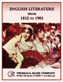 English Literature from 1832 to 1901