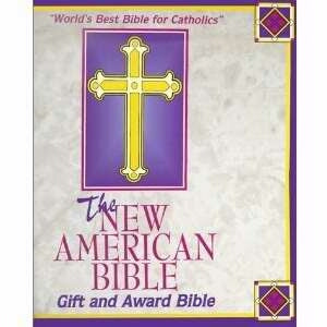 NABRE World Gift And Award Catholic Bible-Wht Imit