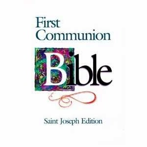 NABRE St Joseph First Communion Boys Edition Bible
