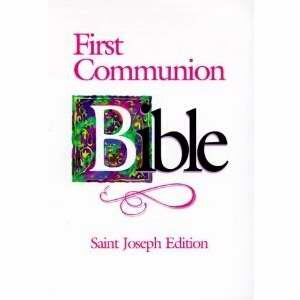 NABRE St Joseph First Communion Girls Edition Bibl