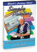 Simply Painting An Introduction to Watercolors & Paint Box