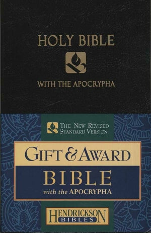 NRSV Gift And Award Bible With Apocrypha-Black Imi