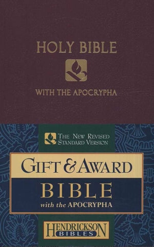 NRSV Gift And Award Bible With Apocrypha-Royal Pur