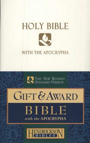 NRSV Gift And Award Bible With Apocrypha-White Imi