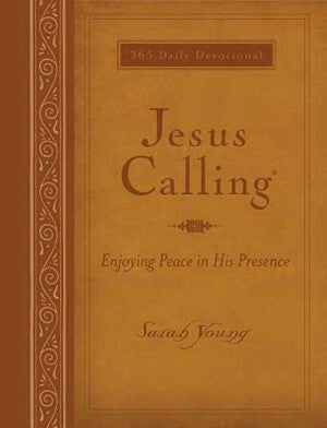 Jesus Calling-Deluxe Large Prt-LeatherSoft