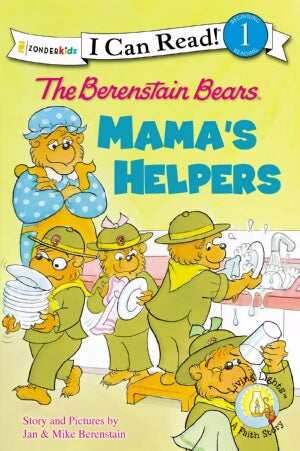 Berenstain Bears: Mamas Helpers (I Can Read!)
