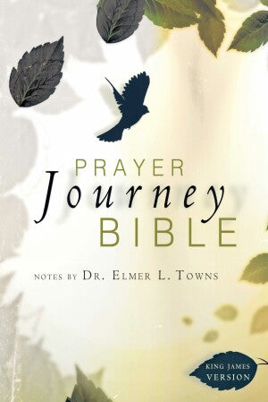 KJV Prayer Journey Bible-SC (Oct)