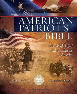KJV American Patriots Bible-HC (Feb)
