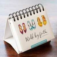 Walk By Faith (Day Brightener) Calendar