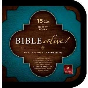 NLT Bible Alive! New Testament Dramatized 15 CD Set