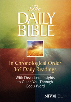 NIV* Daily Bible In Chronological Order-SC (Aug)